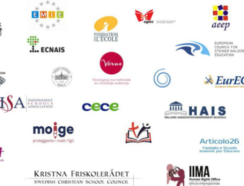 "FAFCE co-signed the Manifesto ""Europe must not forget independent education and educational pluralism"""