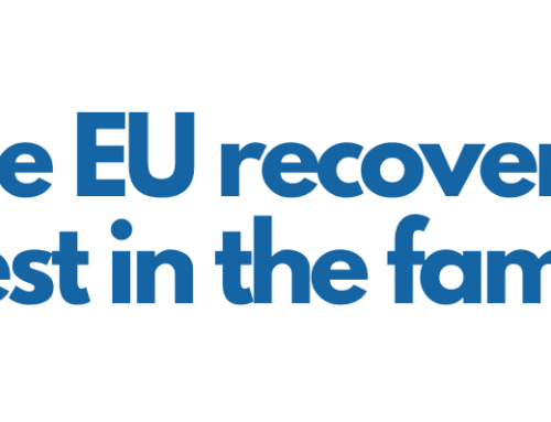 "WEBINAR | ""Will the EU recovery invest in the family?"" (3 December 2020, 15.00 – 16.00)"