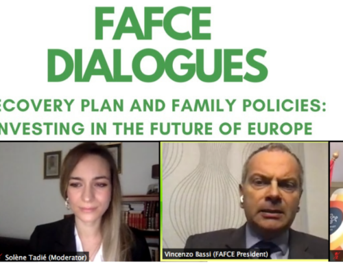 """FAFCE Dialogue with Katalin Novák, Hungarian Minister for Families: """"Families should not be forced to give up on their wish to have children"""""""