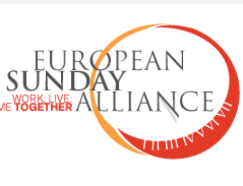 European Day for a work-free Sunday: Joint statement of the European Sunday Alliance