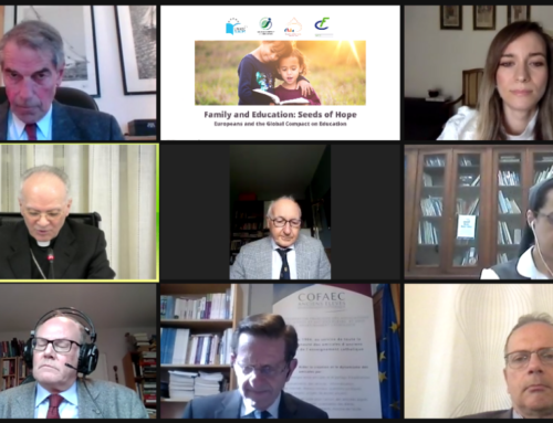 "FAFCE and UNAEC-Europe Jointly Host Webinar on ""Family and Education: Seeds of Hope"""